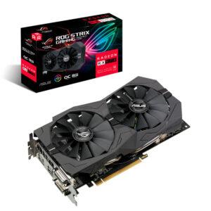 RX570 Tarjeta de Video ROG Strix Radeon OC edición 8GB GDDR5.